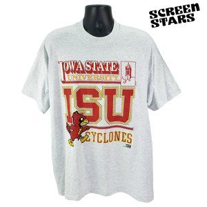 Vintage Iowa State Cyclones Graphic T Shirt XXL